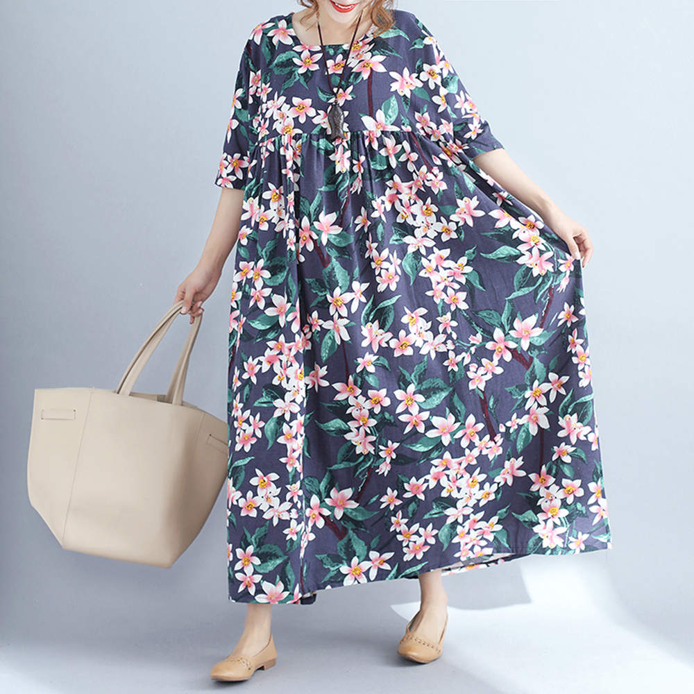 New Style Womens Black Plus Size Summer Dresses