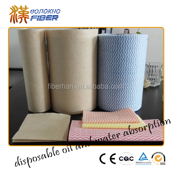 Disposable Nonwoven product Cellulose nonwoven fabric Industrial cleaning wipes