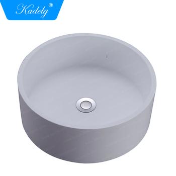 Wash Basins Table Top Round Bowl Shape
