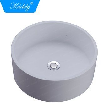 Contemporary Wash Basins Table Top Round Bowl Shape Bathroom Sink