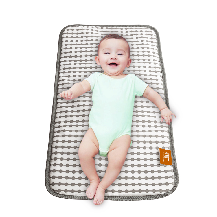 Fashion travel diaper changing pad waterproof baby changing station