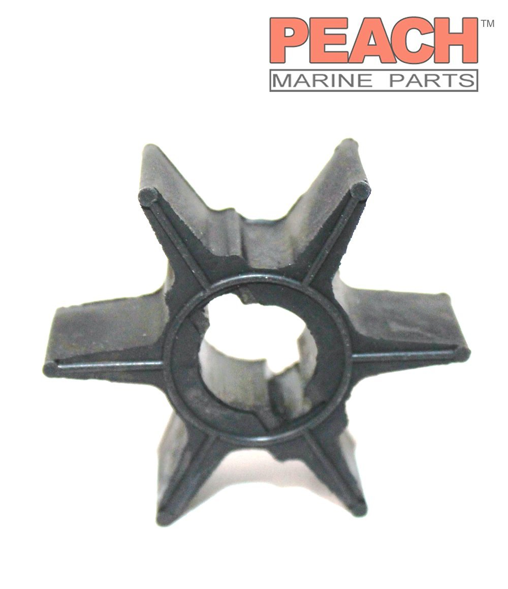 Peach Marine Parts PM-47-95289-2 Impeller, Water Pump; Replaces Johnson Evinrude: 0114812, 114812, Mercury Marine: 47-95289 2, 47-95289-2, 47-95289, 47-114812, Nissan Tohatsu: 309-65021-1, Sierra