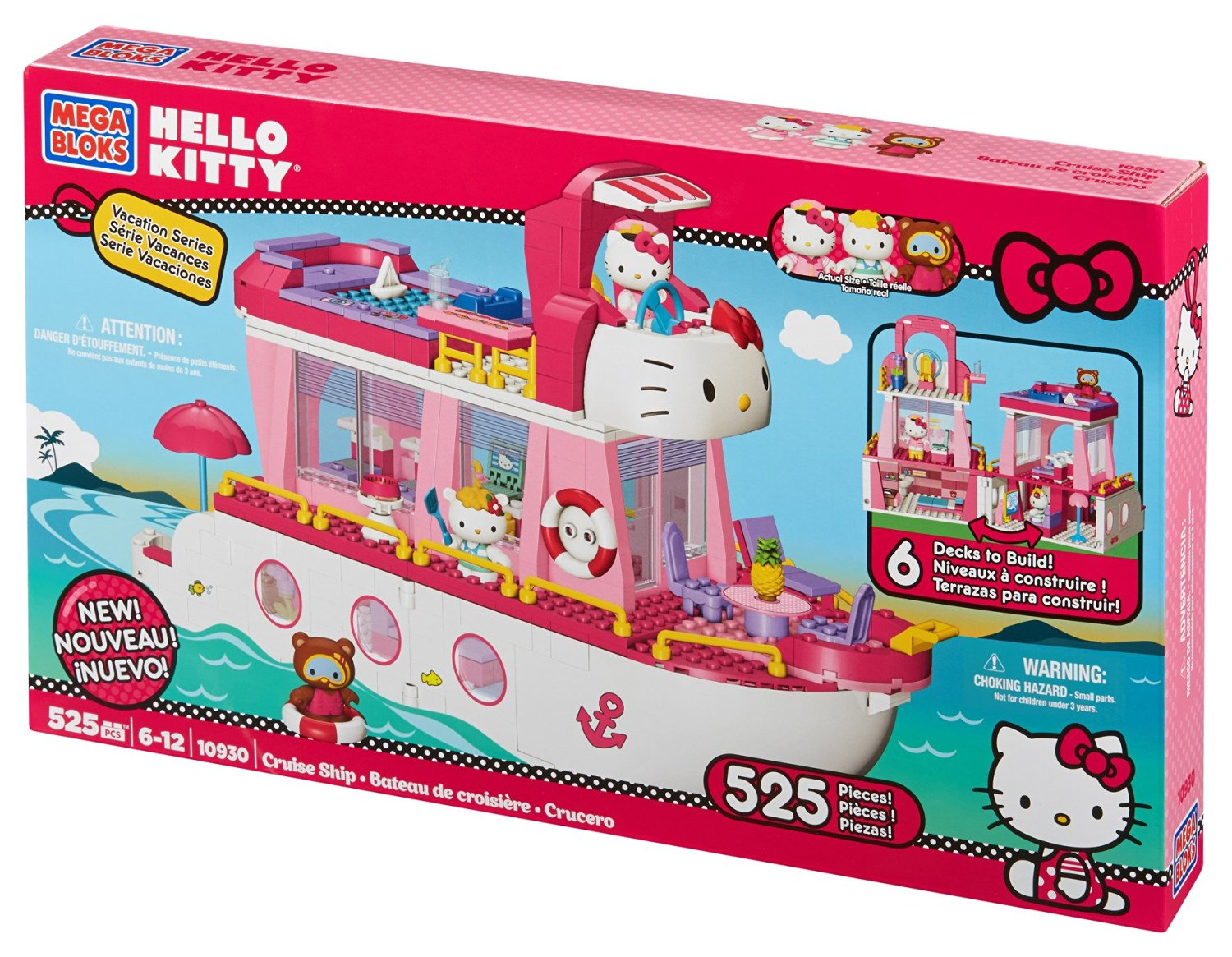Mega Bloks Hello Kitty Cruise Ship