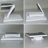 White/VESA Holes/100x100mm Stand/Used for All In One PC or Display/Very Stable Plastic And Metal Display Stand
