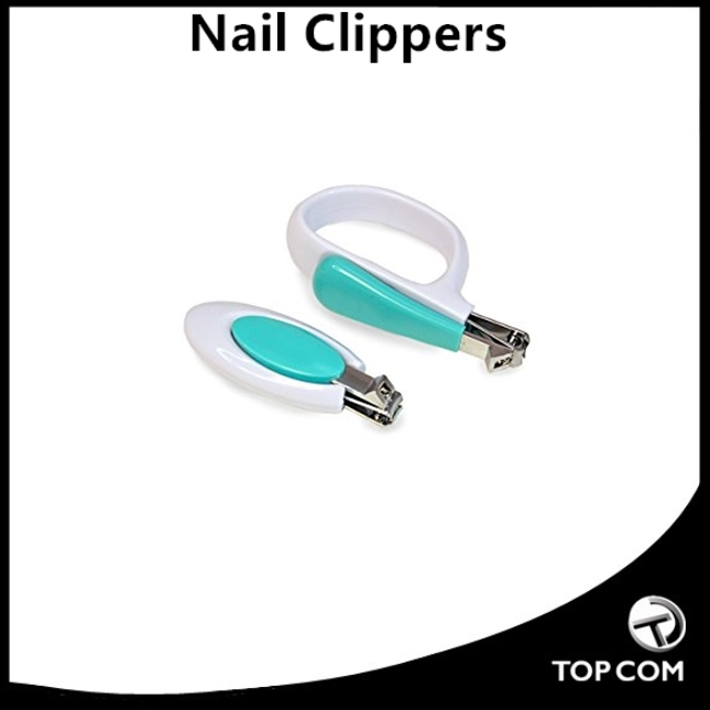 toe nail and finger nail blue white oem fancy parts baby nail clipper