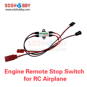RC Model Airplane CDI Engine Stop Switch Gasoline Engine Remote Kill Switch Flameout Switch