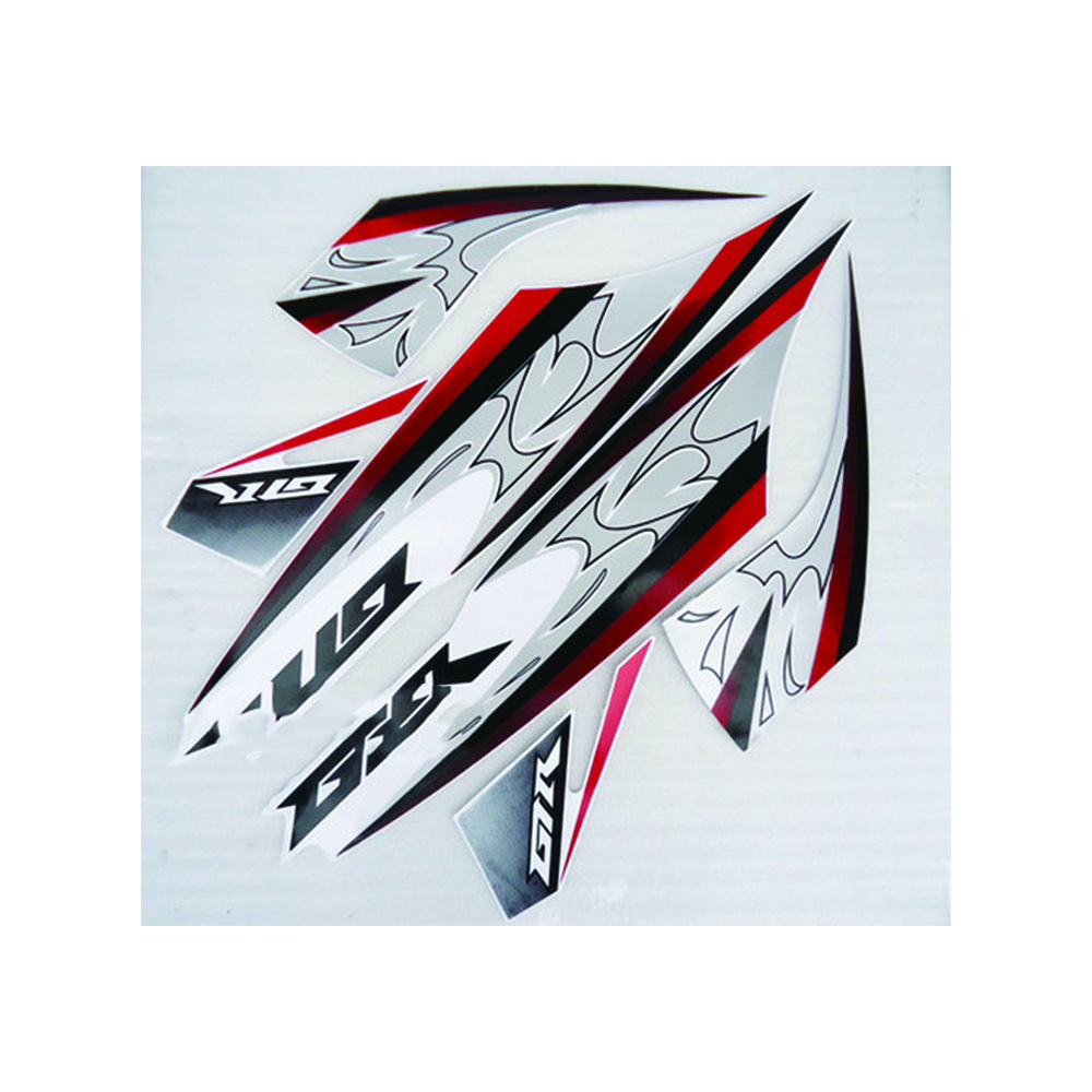 Universal Motorcycle PVC Reflective Film Stickers Decal Paster Tags Decoration