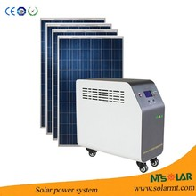 Alibaba website 3kw off grid complete solar system for home , home energy storage stand alone 3KW solar system for sale