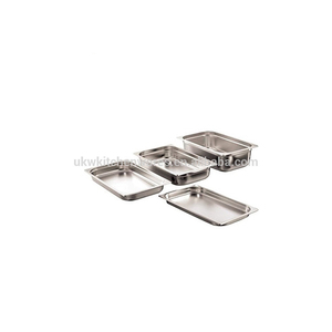 UKW Stainless Steel Kitchen Buffet Food Warmer Hotel Utensil 1/1 GN Pan Container