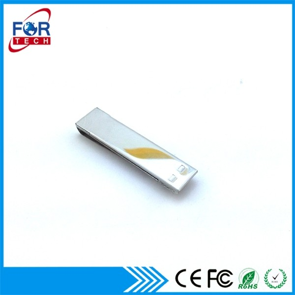 Wholesale OEM Products 8gb 16gb 32gb 64gb Slim Metal Cilp Bulk USB Flash Drive