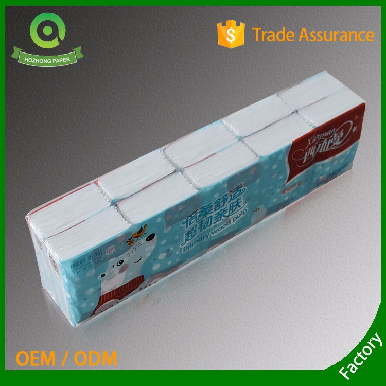 Wholesale 3ply virgin pocket tissue/handkerchief tissue/mini tissue