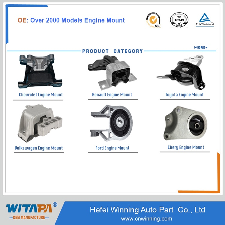Over 3000 Types Auto Car Transmission Mount For All Models By Manufacture