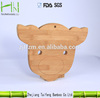 New animal shape bamboo cutting board ,Bamboo chopping board for kitchen