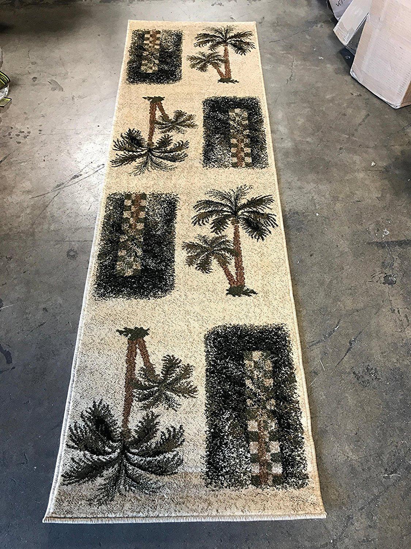 Palm Tree Rug Runner Tyres2c