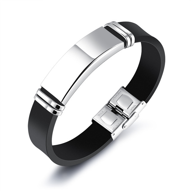 Silicone Bracelet Manufacturer Engravable Bracelets Make Your Own Stainless Steel Crosses Religious Jewelry