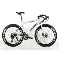 26 inch road bike 21 / 24 / 27 Speed 700 CC Adult Bend race bicycle for Male and Female Students