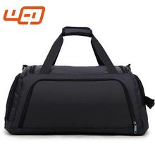 7e38815db3 Nero 600d poliestere pianura Grande capacità singola spalla hanging  cosmetic bagagli borse viaggio portatile