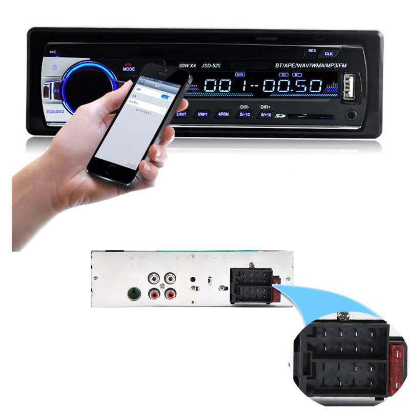 Wholesale Black Bluetooth Vintage Car Radio Mp3 From China: Venta Al Por Mayor Estereo Para Auto Con Usb-Compre Online