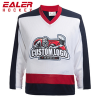Calgary Embroidered logo Tackle Twill Name And Number Ice Hockey Jersey For Game