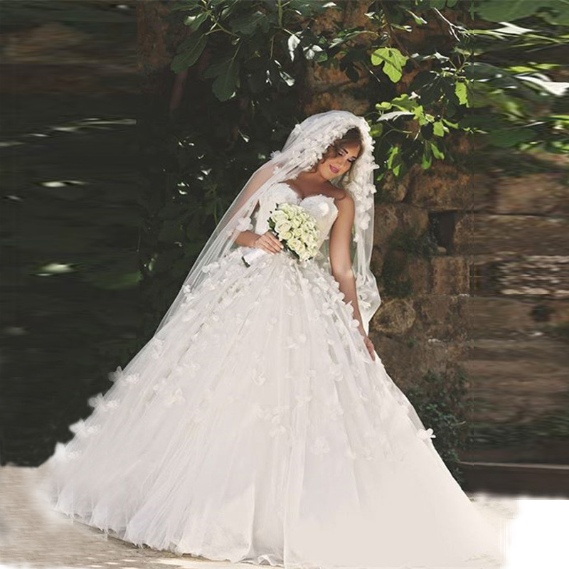 Petite Gowns For Weddings: Gorgeous Princess Wedding Dresses 2015 Sweetheart Petite