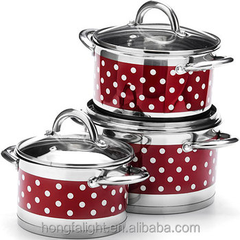 Good quality stainless steel kitchen queen cookware set for Kitchen queen set