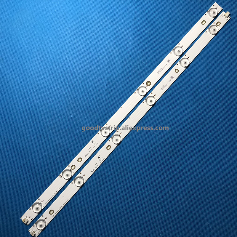 led bar light for Toshiba 48inch 48L3453 4C-LB480T-YHAL 006-P2K2094A LVF480SSDX E2 V2 1set=12pcs