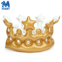 Birthday decoration Giant Inflatable Golden Crown,Inflatable Queen Crown