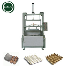 HGHY semi automatic egg tray machine with LPG gas dryer