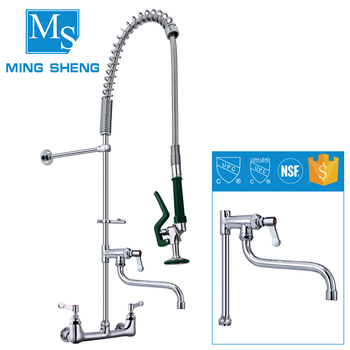 Commercial Tapware 8 Wall Mounted Kitchen Sink Faucet With 12