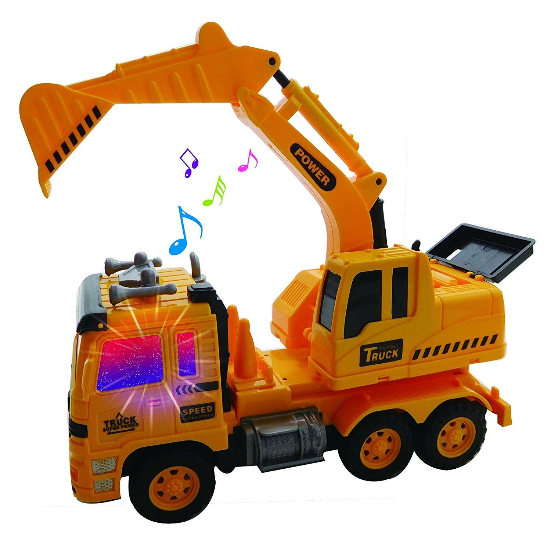 Get Quotations Radio Control Heavy Duty Hauler Excavator RC Backhoe Construction Truck