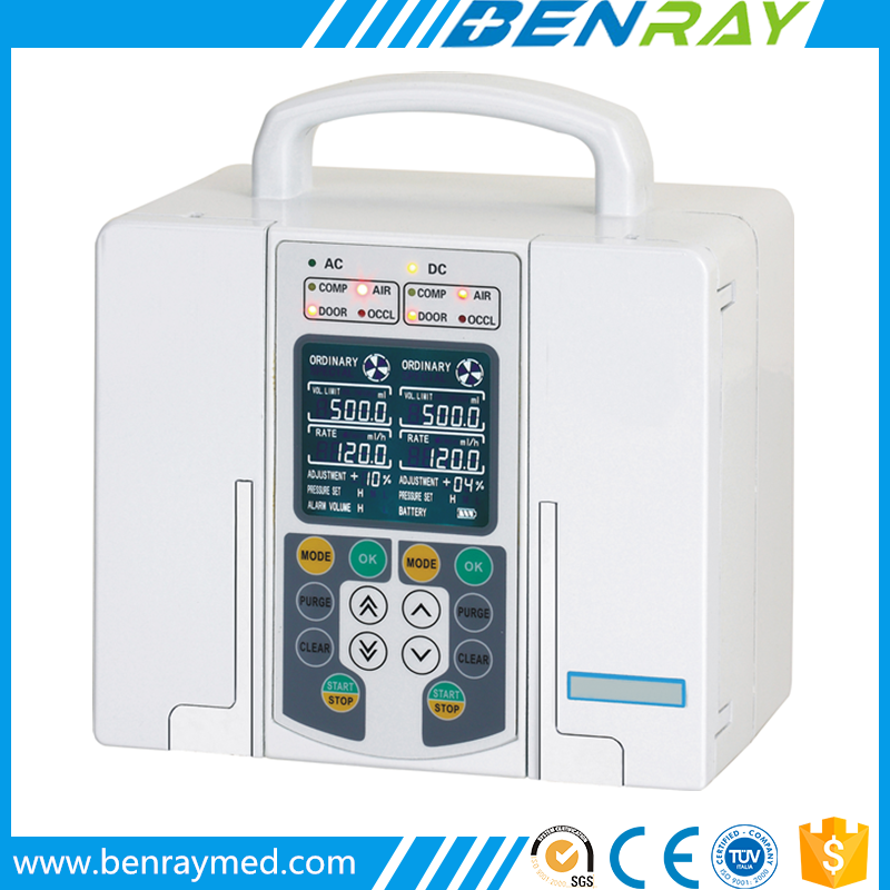 BR-IF02 Double-Channel Infusion Pump Medical Infusion Pump hospira iv pump,  View Double-Channel Infusion Pump, Benray Product Details from Guangzhou