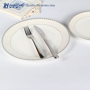 restaurants use small quantity ceramic plate printing / custom made bone china dinner plate dishes & Restaurants Use Small Quantity Ceramic Plate Printing / Custom Made ...