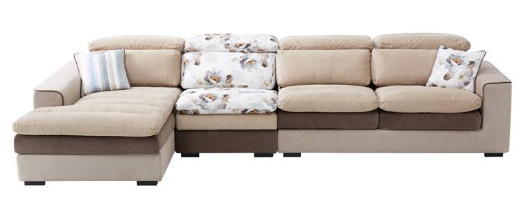 Cheap Lounge Furniture Fabric Moroccan Style Corner Sofa
