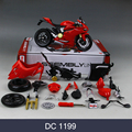 DMH 1199 696 Motorcycle Model Building Kits 1 12 Assembly Toy Kids Gift Mini Moto Diy