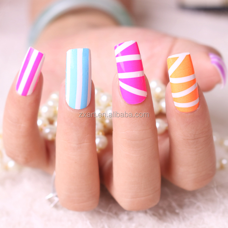 16 Consejos Etiqueta Engomada Del Clavo,3d Gel Nail Art Diseño ...