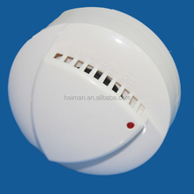fire alarm system 4 wire combined heat and smoke detector 24V