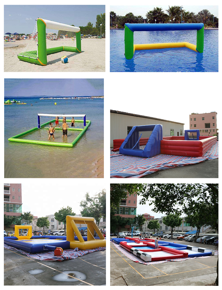 Children or Adults Inflatable Sports Games  Blow Up Volleyball Court Inflatable Pitch