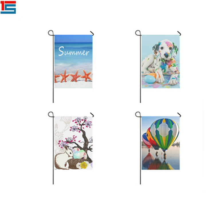 Wholesale House Flag Garden Flags With Stand Holder