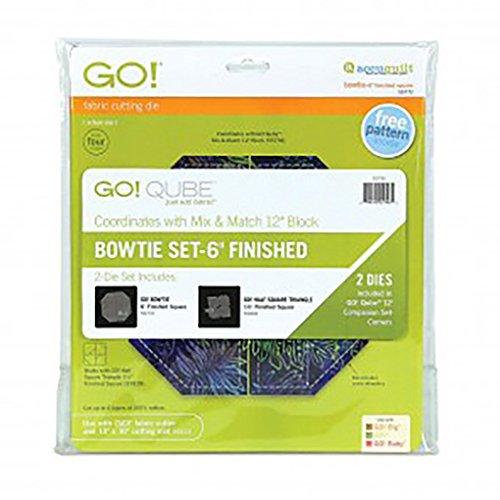 Accuquilt GO! Bowtie 6 inch Finished (2 Die Set)