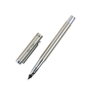 Silver Metal Hero Brand Fountain Pen For Business Gift Writing Customize Engrave Logo