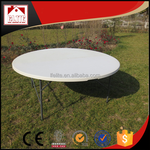 Cheap half round plastic dining tables