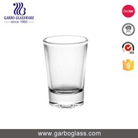 2oz clear vodka shot glass with good quality