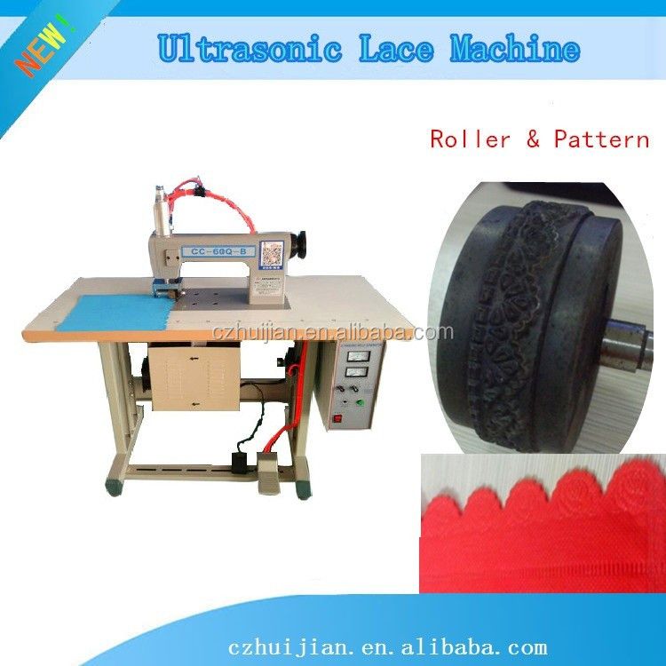 Trade asuurance recommend Ultrasonic lace Sewing machine for Bra,non-woven bag