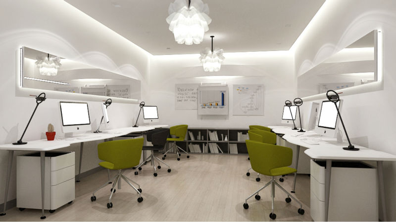2017 Economic Fashion 2 Or 4 6 Office Workstation Team Work Desk Llw01 Workstations For Open Plan Computer Table New Design Product On