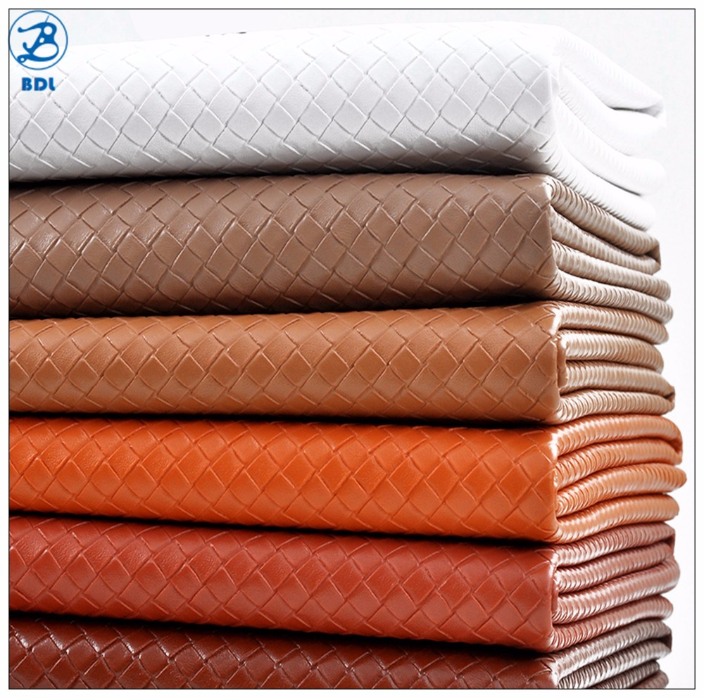 Fashion Pu Faux Leather For Bags, Synthetic Leather Print Viscose Pu Leather Fabric