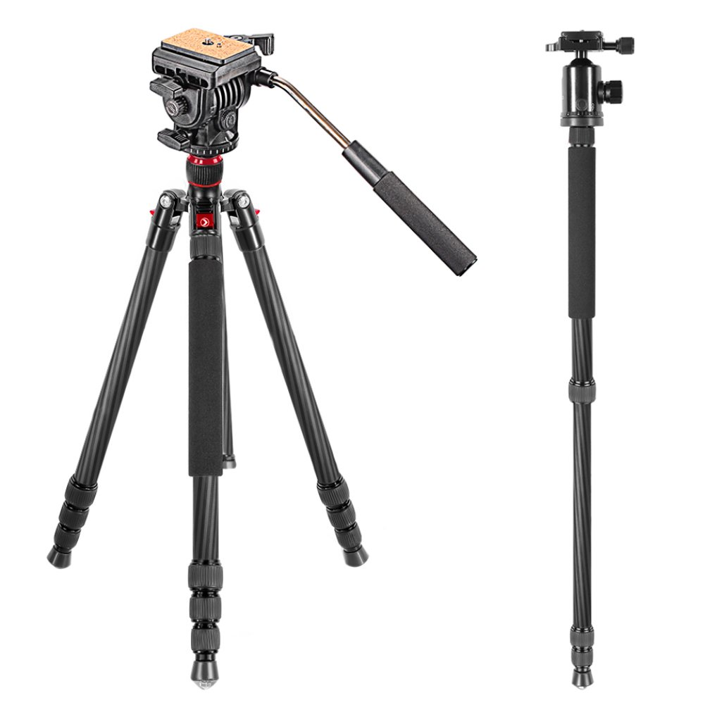 Lenmar DCK30 Mini Tripod and Small Camera Bag