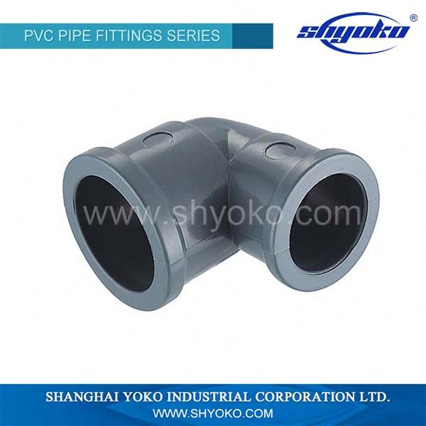 DIN Standard PVC Plastic Tube Fittings Coupling Elbow Tee Union