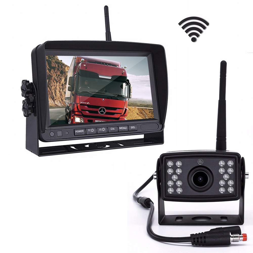 hd digital waterproof reversing bus forklift camera system 24v wireless truck camera rear view camera