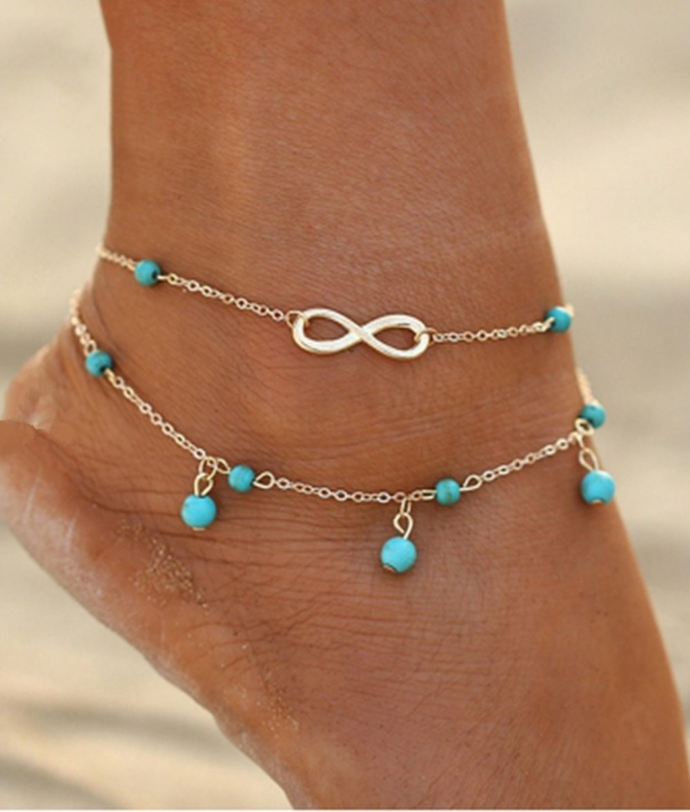 Fashion Summer Style Lucky Number 8 Anklets For Women Foot Jewelry - Buy  Lucky Number 8 Anklets,Foot Jewelry,Summer Style Anklet Product on