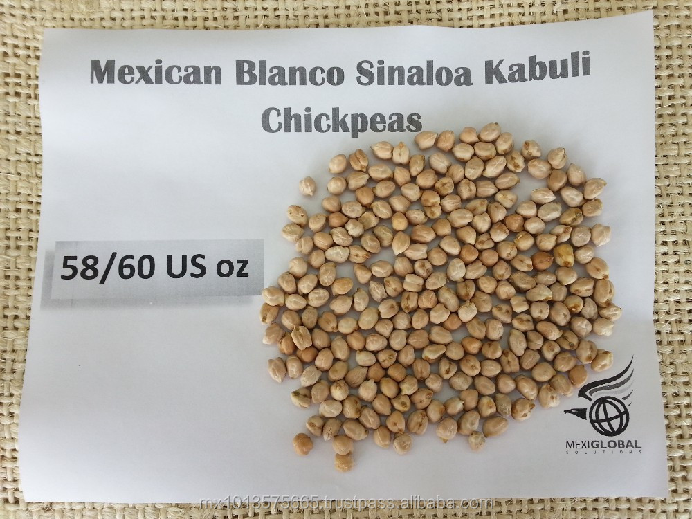 Cicer Arietinum Chickpeas Kabuli 9mm